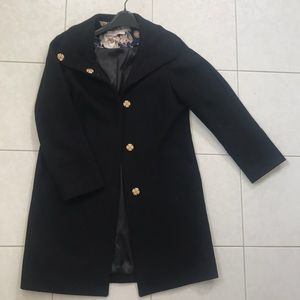 Eliza J classic black coat. Worn once